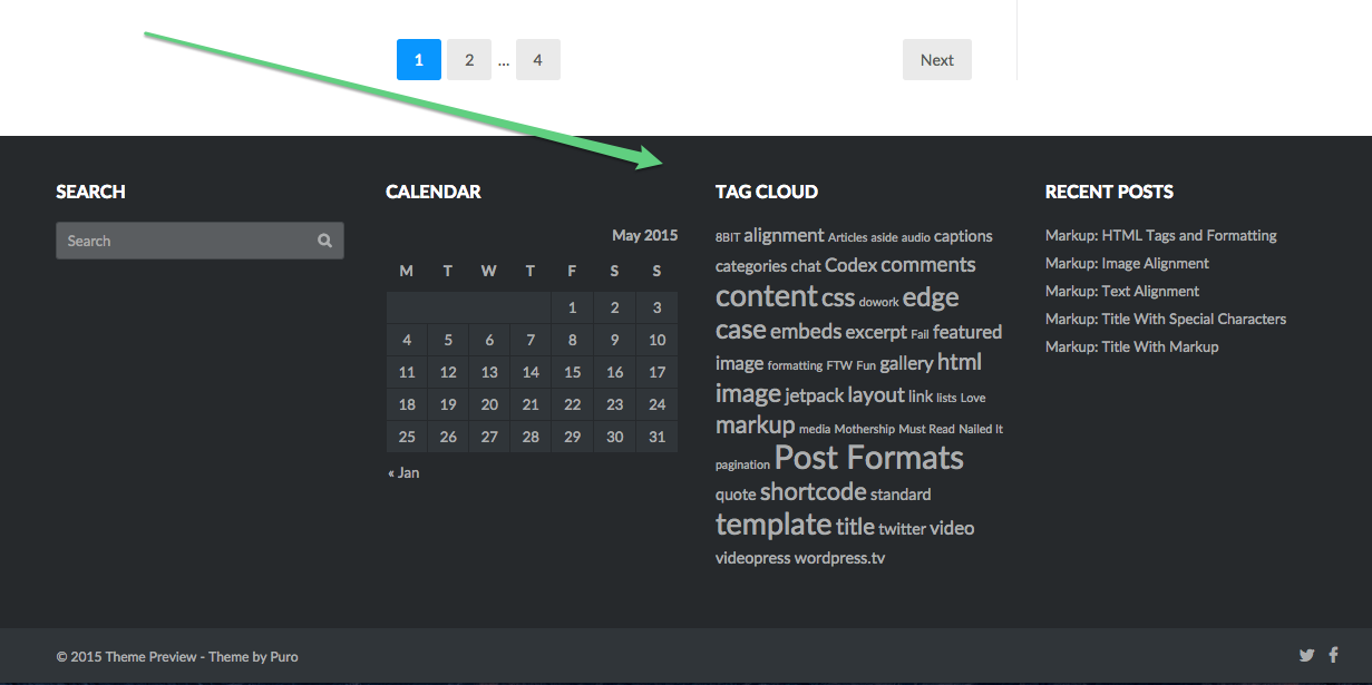thesis theme footer plugin Many thesis theme users have had this small gripe – they haven't found an elegant way of removing the attribution link from the footer which the.